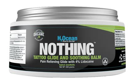 tattoo aftercare nothing on it tattoo numbing products h2ocean