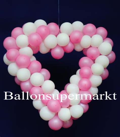 Hochzeitsdekoration Herz by Hochzeitsdeko Herzen Aus Luftballons