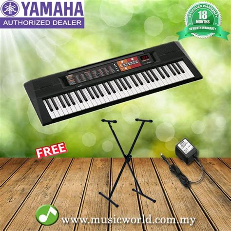 Keyboard Yamaha Psr F 51 Stand Keyboard Tas Casio yamaha psr f51 electrical keyboard beginner keyboard