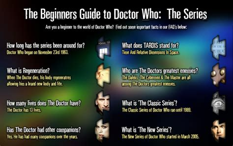 doctor who guides beginners guide the series