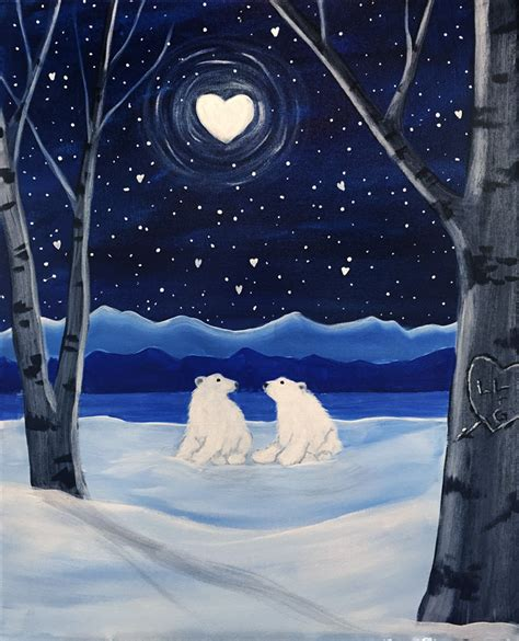 paint nite nh winter paintings graffiti paintbar