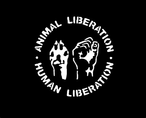 Animal Liberation. Human Liberation T Shirt   Anarkiss