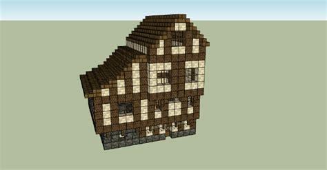 maison minecraft plan 3d plan maison m 233 di 233 vale minecraft l impression 3d