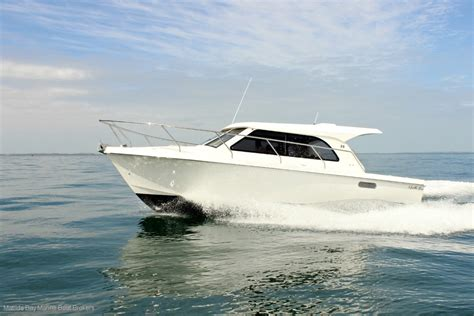 bay boats with twin outboards new matilda bay 32 obx twin outboard version for sale