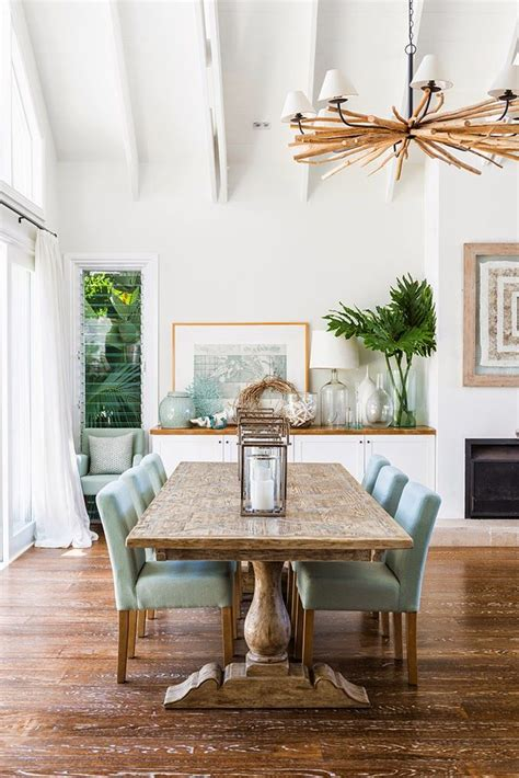 25 best ideas about coastal dining rooms on