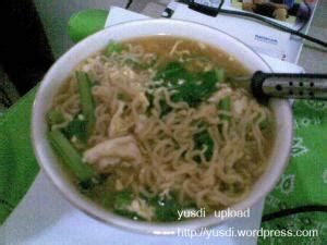 Mie Instan Goreng Sehat Sawi it s my life the power of dreams