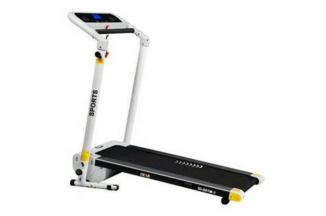 Treadmill Elektrik Id 100 Ac Untuk Fitness Center treadmill elektrik 1 fungsi pembayaran bisa dirumah