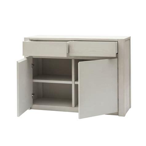 credenza moderna prezzi credenza moderna in legno bianco a due ante e due cassetti
