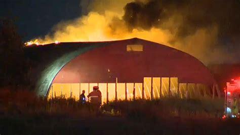 calgary fire crews quickly knock  building fire ctv news