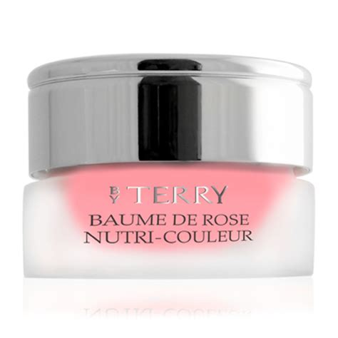 by terry by by terry baume de rose ipspf 15 lips care 7g023oz by terry baume de rose nutri couleur pour les l 232 vres 7g