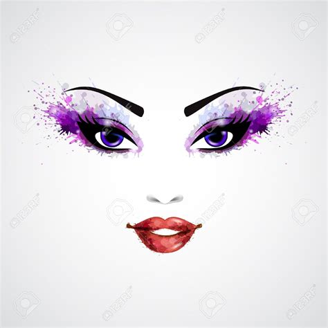 makeup clip abstract clipart makeup pencil and in color abstract