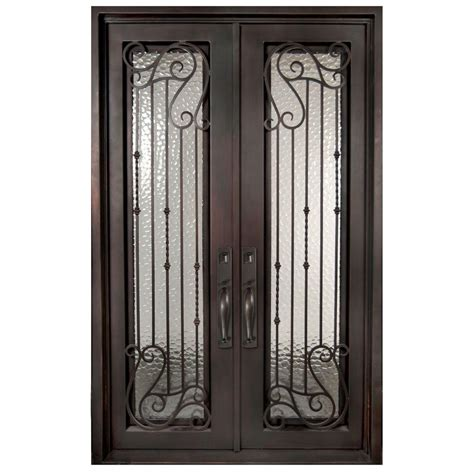 front iron doors iron doors front doors the home depot