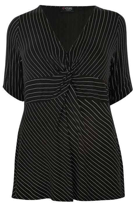 best 32 in tv for 200 yours black white longline striped knot top plus