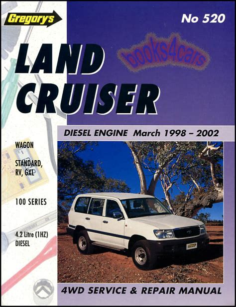 where to buy car manuals 2002 toyota land cruiser auto manual land cruiser shop manual service repair toyota diesel gregory book 1998 2002 ebay