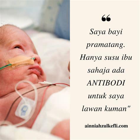 Baju Bayi Pramatang penyusuan ibu untuk bayi pramatang ainniahzulkefli