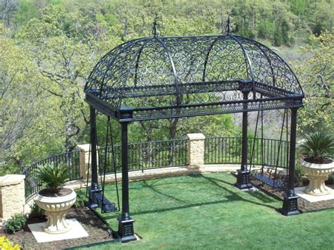 Iron Gazebo An Awesome Selection Of Stylish Garden Structures From
