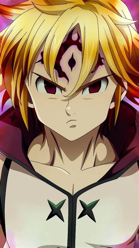 angry anime boy meliodas  wallpaper  deadly sins nantsu  taizai nanatsu