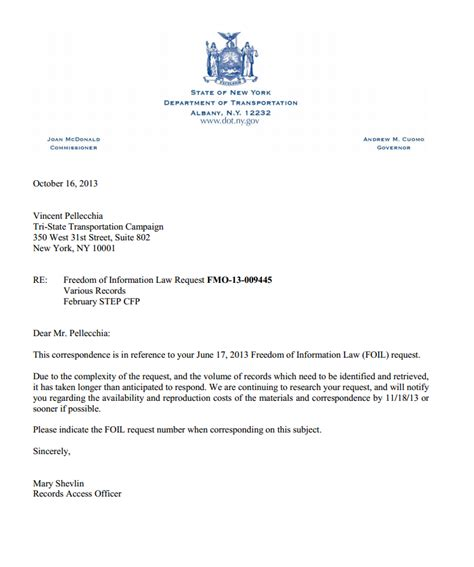 Request Letter Sle For Extension Of Contract New York State Governor Search Results Dunia Photo