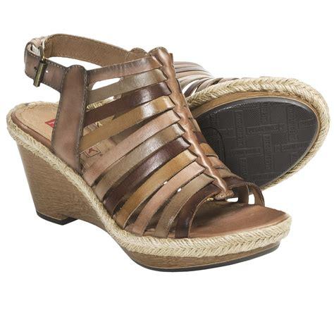 pikolino sandals pikolinos gomera wedge sandals for 5731v save 78