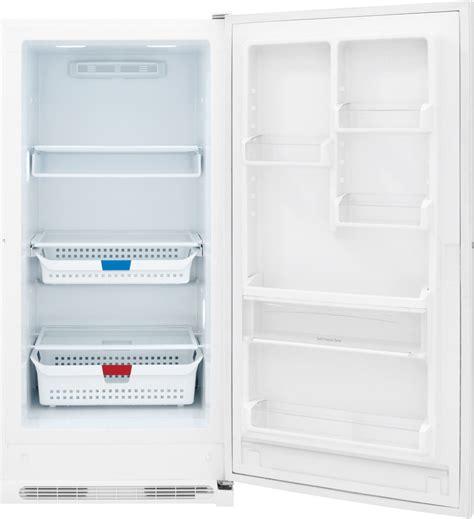 frigidaire freezer shelves frigidaire fffh17f6qw 16 85 cu ft upright freezer with 3
