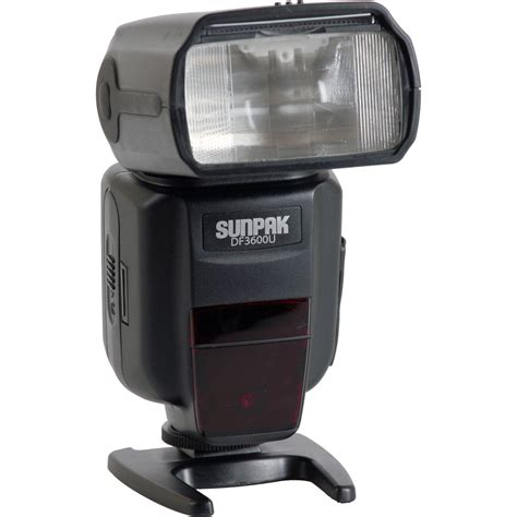 sunpak df3600u flash for canon and nikon cameras df3600 cn b h