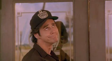 ace ventura pet detective bathroom scene ups driver is a peeping tom generally frowned upon