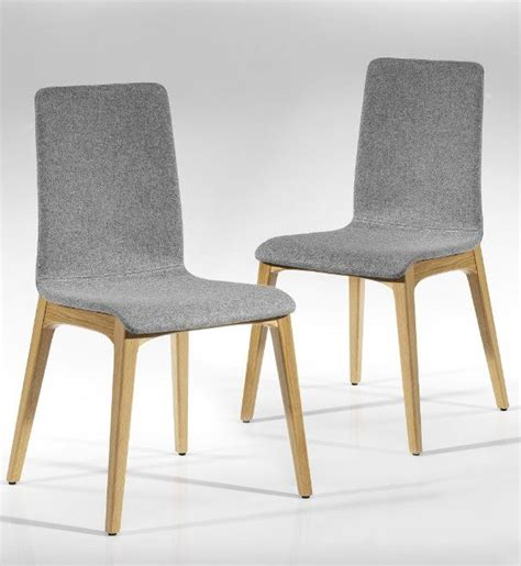 Contemporary Oak Dining Chairs 2 Conran Mitchell Dining Chairs Extension