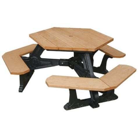 recycled plastic picnic bench recycled plastic square picnic table terracast productsterracast products
