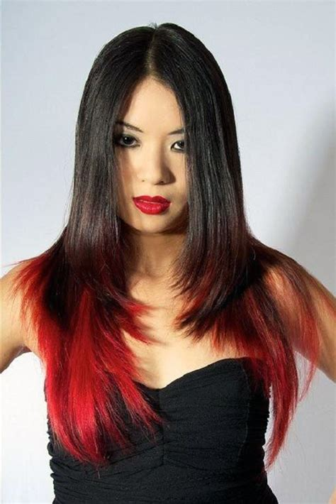 Gallery Of Color Highlights For Black Hair Medium Hairstyles 10604