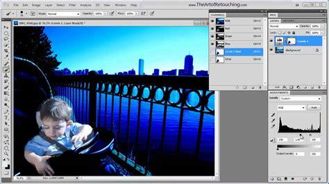 adobe photoshop alpha channel tutorial alpha channels for masking photoshop tutorial youtube