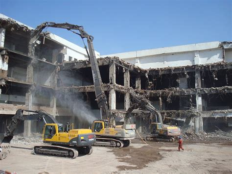 volvo supports safe demolition  india