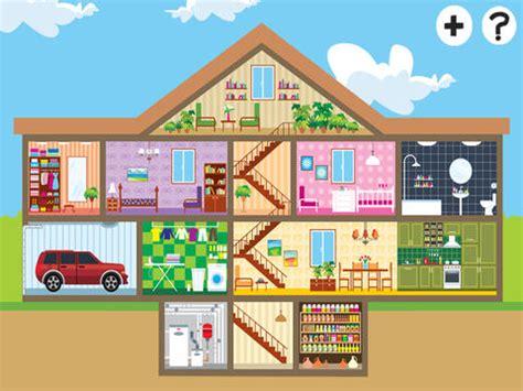 descrizione di una casa in inglese abc casa per i bambini gioco delle vostre prime parole in