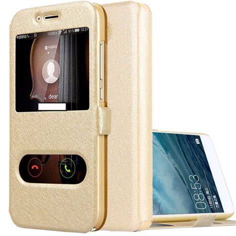 Flipcover Ume Huawei Y3 Flipcase Flip Cover Huawei Y3 flip for huawei y3 2017 y3ii flip leather cover window view wallet for