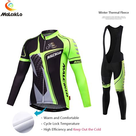 cycling suit jacket ξmalciklo cycling suit clothing winter thermal thermal