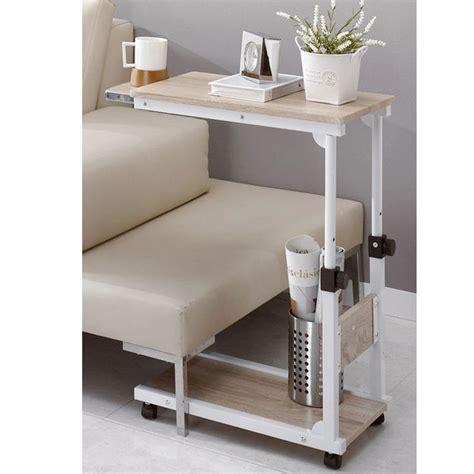 diy bed desk diy steel food wheel table side table laptop desk table reading desk bed tray ebay