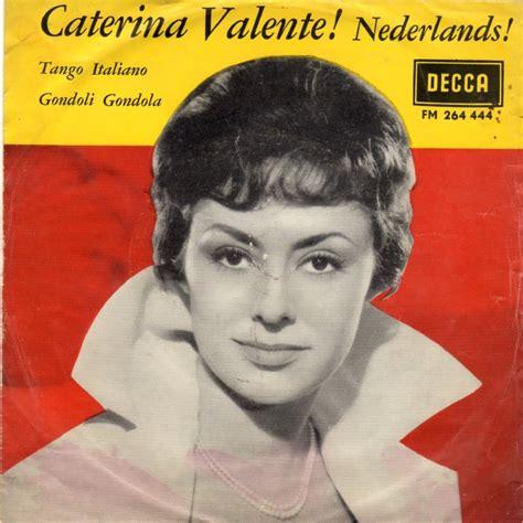 caterina valente rosen sind rot 45cat caterina valente tango italiano gondoli