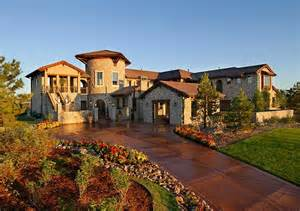 tuscan inspired homes tuscan style house plans with photos