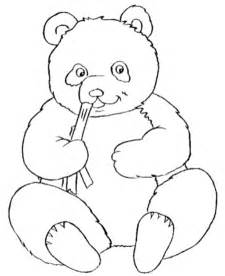 Panda Outline Drawing by Panda Outline Free Clip Free Clip On Clipart Library