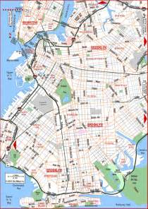 Brooklyn New York Map road map of brooklyn brooklyn new york aaccessmaps com
