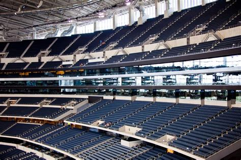 cowboy stadium seating dallas cowboys stadium a complete photo and review