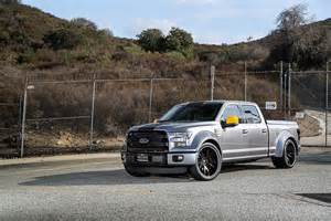 2015 ford f 150 gets widebody kit and forgiato wheels