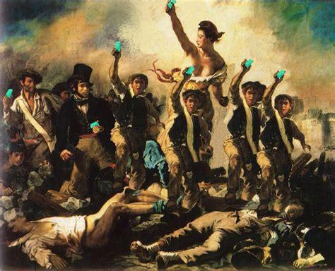le peuple de la delacroix la libert 233 guidant le peuple 1831 photo de histoire secr 232 te des tableaux c 233 l 232 bres 2