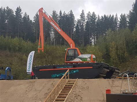 pontoon uk finnboom pontoons m xxxl hibious excavators price