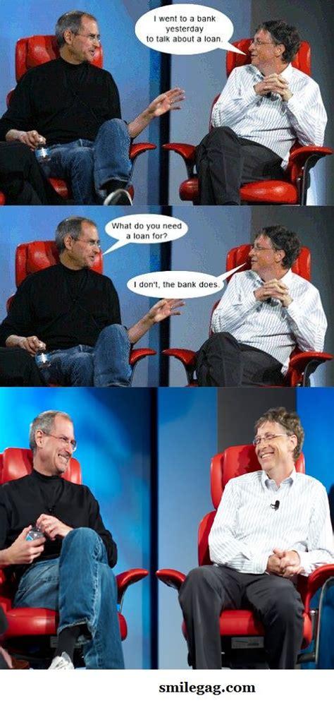 Steve Jobs And Bill Gates Meme - 7 best bill gates and steve jobs memes