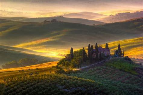 italian nature of photographs val d orcia tuscany italy travel