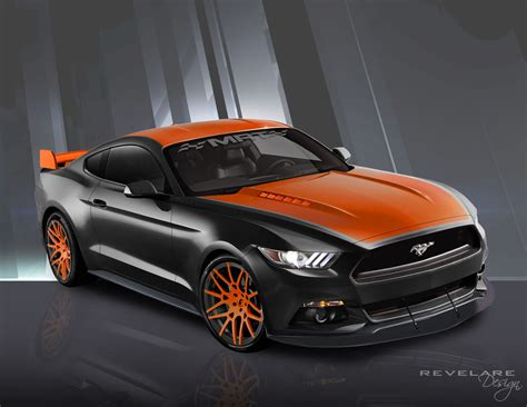 ford vehicles 2015 2015 ford mustang to take sema by with 12