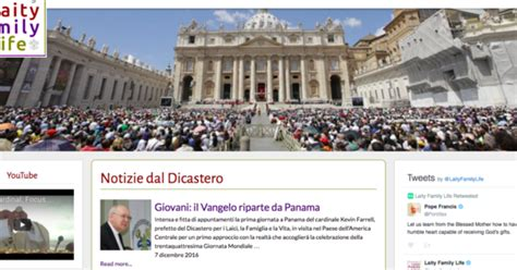 sito santa sede santa sede nuovo sito dicastero pontificio per i