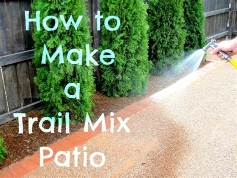 how to make a pea gravel patio not sure why it s called