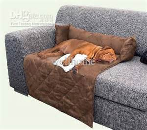 suede soft pet pet sofa bed blanket from