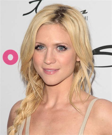 Brittany Snow Curly Casual Updo Braided Hairstyle   Light